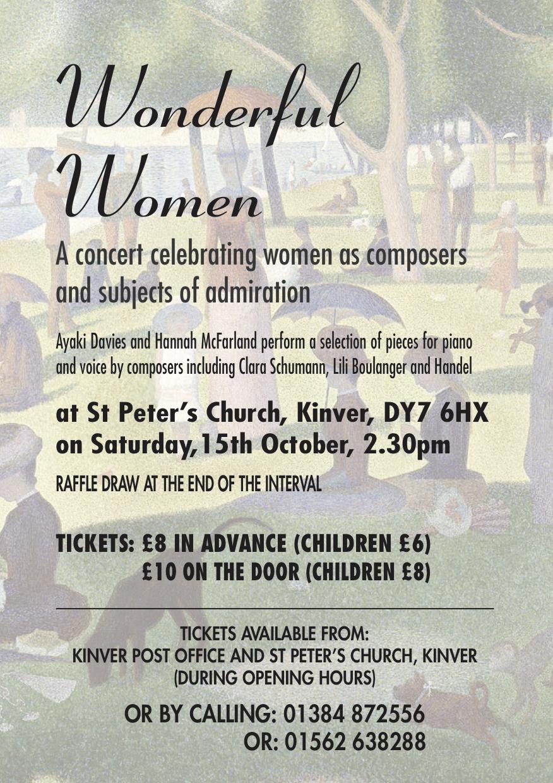 Wonderful Women Poster v4 - A4