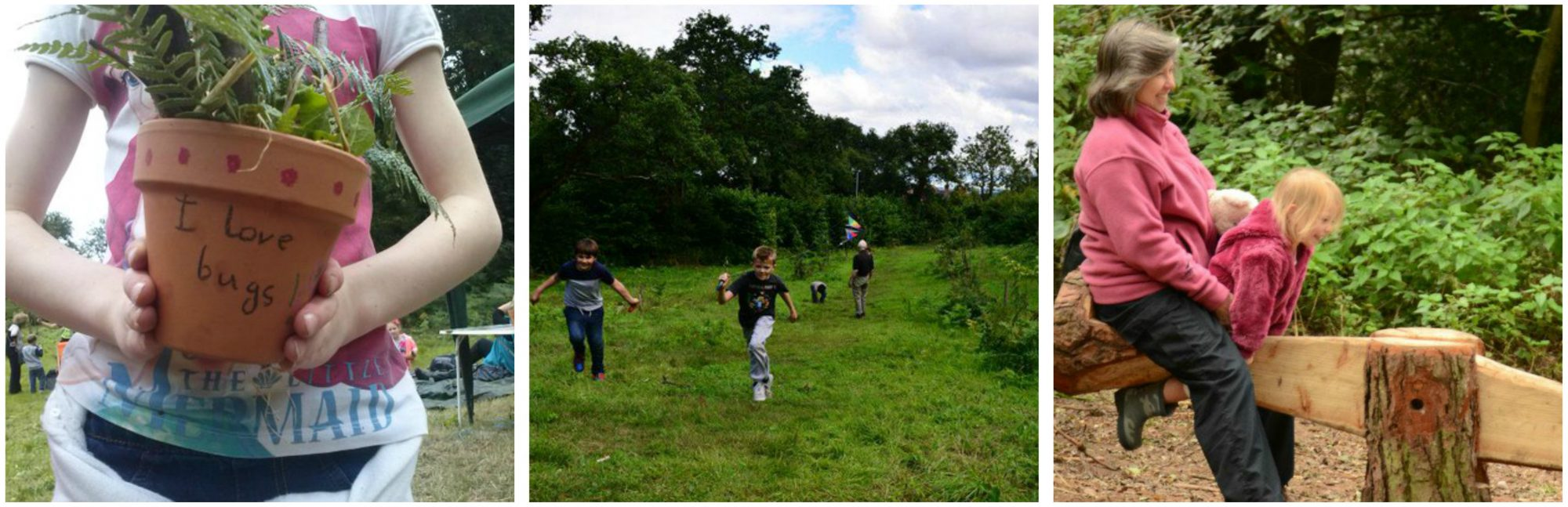 Crafty kids at Kinver Edge – National Trust